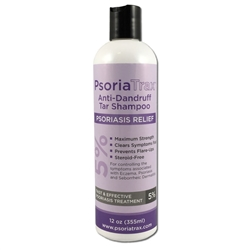 Coal Tar Shampoo - PsoriaTrax 5% one Bottle