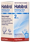 Habitrol 2mg Gum 96 Piece (Coated) Fruit